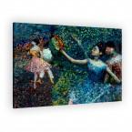 Tänzerin mit Tambourin von Edgar Degas als Leinwandbild