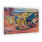 Edvard Munch - Pflüger im Frühling