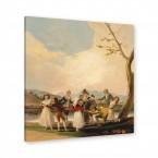Franciscus José de Goya - Das Blindekuhspiel