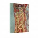 Hygieia von Gustav Klimt als Leinwandbild