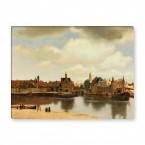 Ansicht der Stadt Delft Gemälde