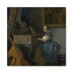 Jan Vermeer - Leinwandbild