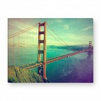Leinwandbild - Golden Gate Bridge - San Francisco - Kalifornien