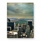 Leinwandbild - Manhattan Twighlight - City - New York