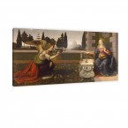 Leonardo da Vinci die Verkündigung Mariae Leinwandbild