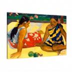 Leinwandbild Paul Gauguin Frauen von Tahiti
