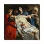 Leinwandbild - Die Grablegung Christi