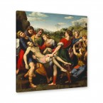 grabgebung christi leinwandbild