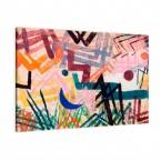 Spiel der Kräfte einer Lech Landschaft von Paul Klee