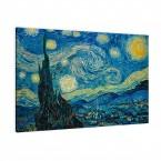 Sternnacht von Van Gogh als Leinwandbild