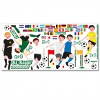 Wandsticker Set XL - Fußball WM
