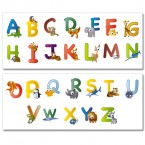 Wandsticker Mega Set - animal abc