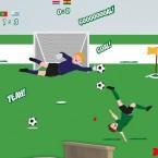 Wandsticker Mega Set - Fußball WM