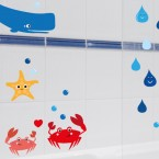 Wandsticker Unterwasserwelt