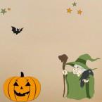 Wandsticker Set A4 - Halloween