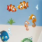 Wandsticker Unterwasser