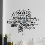 Wandtattoo Uhr - Kitchen Activities