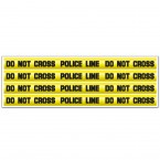 "Wandsticker Set ""DO NOT CROSS"" - Crime Tape"