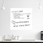 Whiteboard - 100 x 100 cm