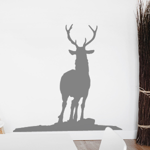 wandtattoo hirsch reh wald wandaufkleber wandsticker. Black Bedroom Furniture Sets. Home Design Ideas