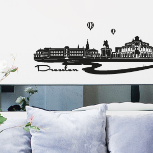 wandkings wandtattoo skyline dresden gr e farbe w hlbar ebay. Black Bedroom Furniture Sets. Home Design Ideas