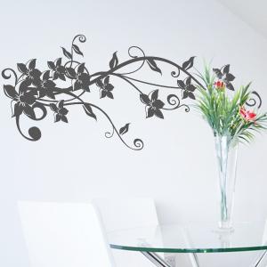 wandtattoo blumenranke sophie pflanze ranke wandsticker wandaufkleber ebay. Black Bedroom Furniture Sets. Home Design Ideas