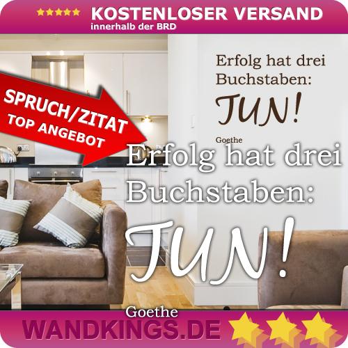 wandkings wandtattoo erfolg hat drei buchstaben tun gr e farbe w hlbar ebay. Black Bedroom Furniture Sets. Home Design Ideas