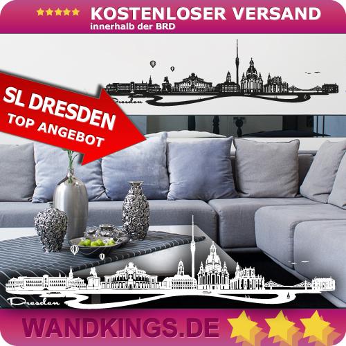 WANDKINGS-Wandtattoo-Skyline-Dresden-Groesse-Farbe-waehlbar