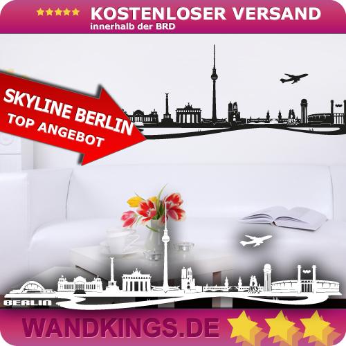WANDKINGS-Wandtattoo-Skyline-Berlin-Hauptstadt-Alex-Groesse-Farbe-waehlbar