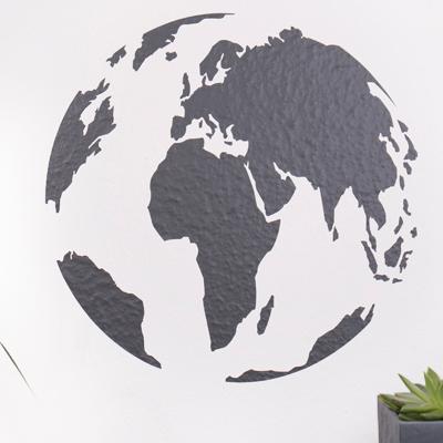 Wandtattoo Globus