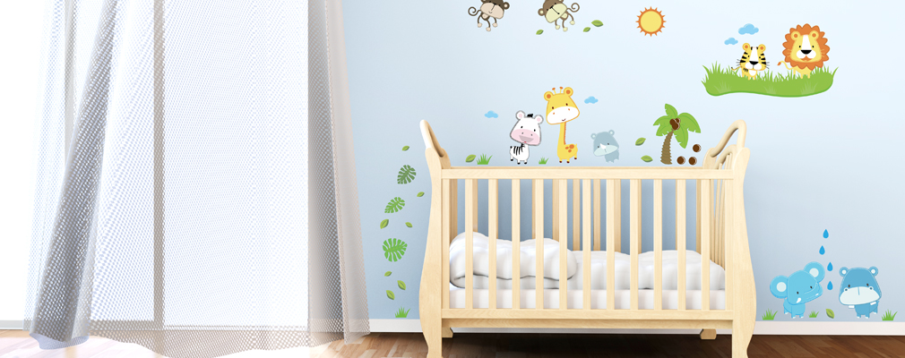 Wandsticker baby for Wandsticker fur babyzimmer