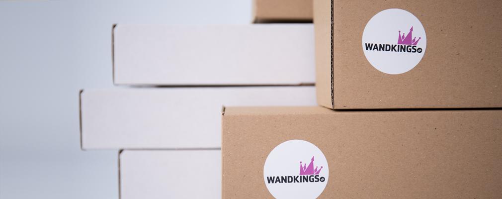 Wandkings Versandkosten Lieferung