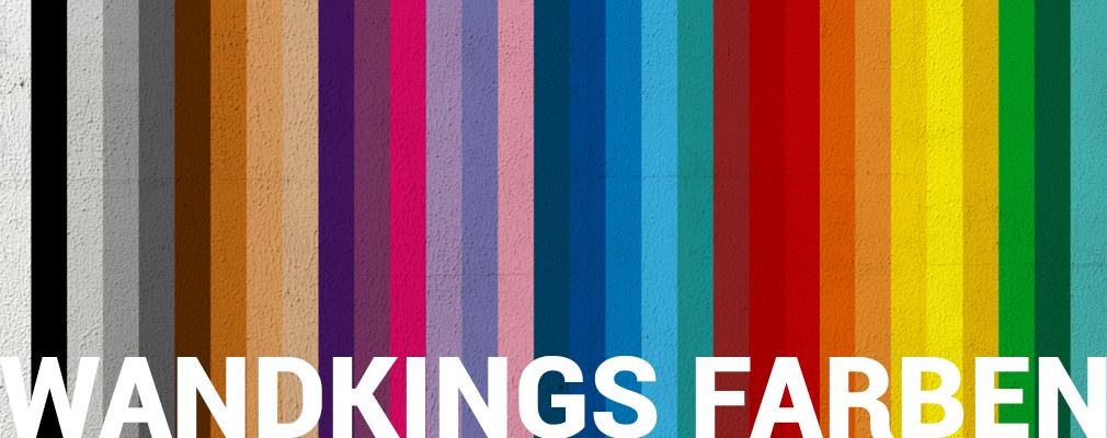Alle Farben der Wandkings Wandtattoos