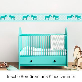 Bordüren fürs Kinderzimmer