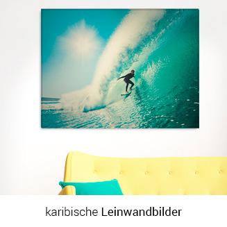 Leinwandbild surfing
