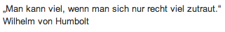 Wandtattoo-Zitat-Wilhelm von Humbolt