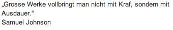 "Wandtattoo Zitat ""Grosse Werke"""