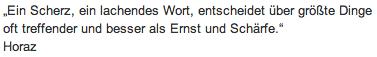 """Wandtattoo Zitat """"Ein Scherz"""""""