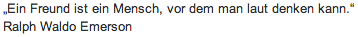 """Wandtattoo Zitat """"Ein Freund ist"""""""