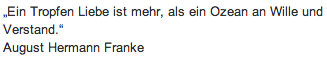 """Wandtattoo Zitat """" Ein tropfen Liebe"""""""