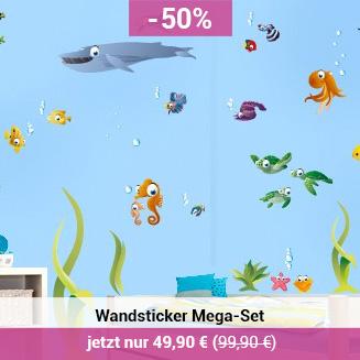 Wandaufkleber Unterwasserwelt